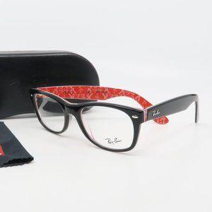 RB 5184 2479 Ray-Ban Black Unisex Glasses 52mm